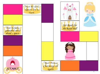 Pretty Princess Prepositions