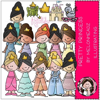 Pretty Princess by Melonheadz COMBO PACK