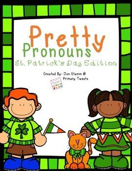 Pretty Pronouns St. Patrick's Day Edition