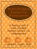 Pretty Pumpkin Centers- Math and Literacy Centers for the Fall!!