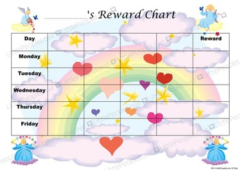 Pretty Reward Chart