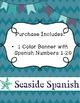 Pretty Spanish Counting: Numbers 1-20/Numeros 1 hasta 20