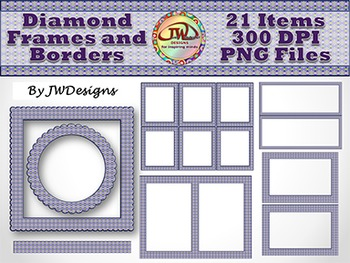 Frames and borders - Clip Art Templates
