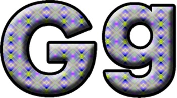 Letters, Numbers, Math Symbols - Clip Art