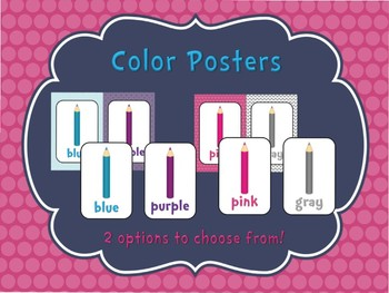 Pretty in Pink Colors Posters