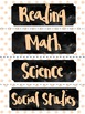 Pretty in Pink *Editable* Classroom Labels