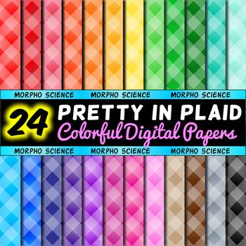 Pretty in Plaid - Digital Paper