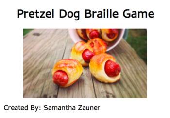 Pretzel Dog Braille
