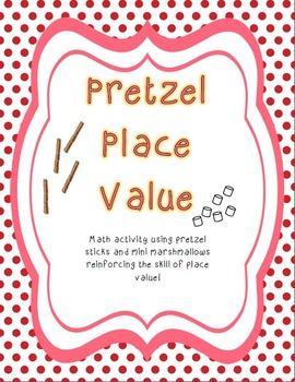 Pretzel Place Value Math Activity