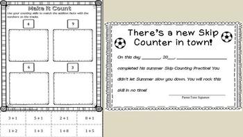 Prevent Summer Slide {Daily Math Practice for K-2}