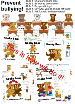 Prevent bullying Kooky Bear