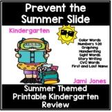 Prevent the Kindergarten Summer Slide Review