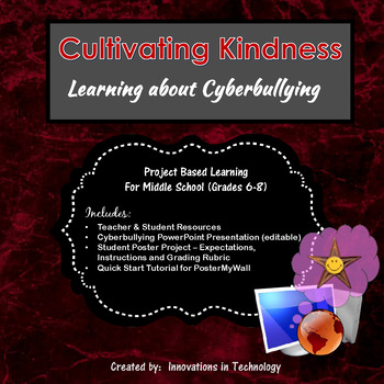 Preventing Cyberbullying (and Cultivating Kindness) - Poster Project