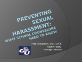 Preventing Sexual Harassment PowerPoint