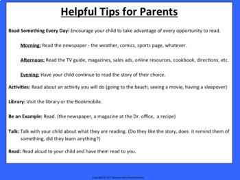 Preventing Summer Slide - Lesson, Activities, Printables, Parent Tips