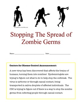 Preventing The Spread of Zombie Germs!