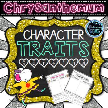 Chrysanthemum Character Traits Activities Bundle