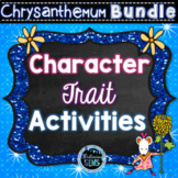 Chrysanthemum Character Traits Bundle | First Day of School Activities