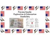 Preview Doodle - Exploration & Colonization Vocabulary