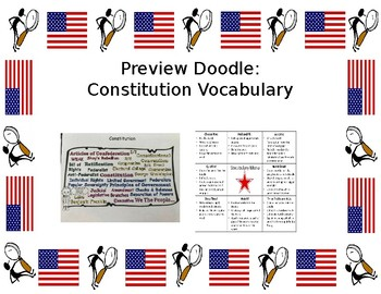 Preview Doodle: U.S. Constitution