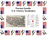 Preview Doodle: U.S. History Vocabulary
