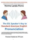 Preview Freebie of ESL Speakers Key to Pronunciation