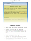 Preview: HTML Programming & Web Design Practical Part Unit 1