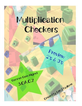 {Preview} Multiplication Checkers 2's and 3's