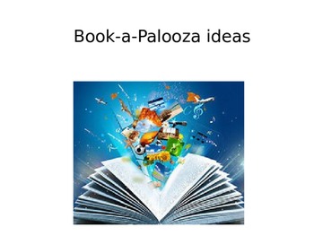 Preview Powerpoint for Book-a-Palooza Reading Fair Event
