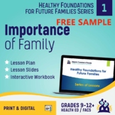 Preview Slides - Lesson 1 Importance of Family