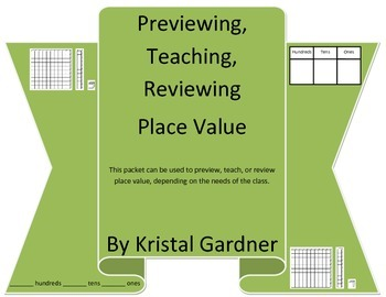 Preview, Teach, Review Place Value