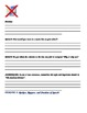 Preview and question student packet for When Music Offends- Read 180 C