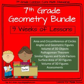 Free Geometry Lesson Plans (Bundled) | Teachers Pay Teachers