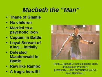 Preview of MACBETH