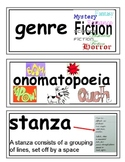 Preview of fourth grade word wall cards