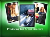Previewing Text and Text Structures