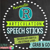 Prevocalic /r/ Articulation Speech Sticks