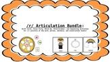 Prevocalic /r/, /r/ Blend, and Vocalic /r/ Articulation Ac