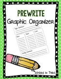 Prewrite Graphic Organizer