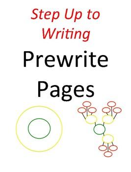 Prewrite Templates (Step Up to Writing)