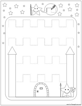 Prewriting Activity Packet - Occupational Therapy, Pre-K, Special Education