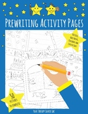 Prewriting Activity Packet - Occupational Therapy, Pre-K,
