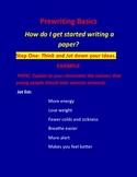 Prewriting Basics: How Do I Begin Writing a Paper?