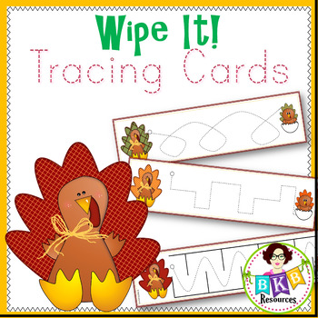 Prewriting Cards● Tracing Cards ● Write On ● Fine Motor Sk