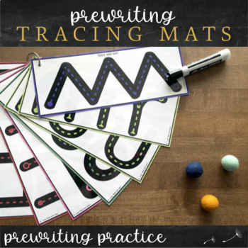 Prewriting Handwriting Lines - Activity Mats
