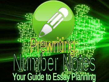 Prewriting : Number Notes PowerPoint