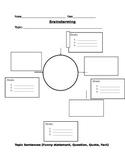 Prewriting- Organize those Ideas!