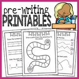 Prewriting Worksheets - NO PREP