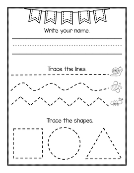 Prewriting Worksheets - NO PREP