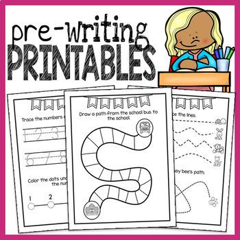 Prewriting Worksheets - Fine Motor Worksheets